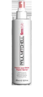paul mitchell freeze and shine super spray 250ml free postage