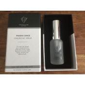 crystal clear pharma grade hyaluronic serum