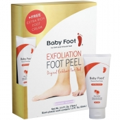 baby foot exfoliation foot peel with free foot cream