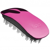 ikoo metallic hair brush no tangle rose