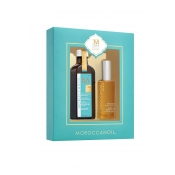 moroccanoil light treatment and body oil 10th anniversary set