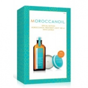moroccanoil light treatment 100ml with free scented candle