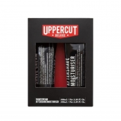 uppercut deluxe shave cream & aftershave moisturiser duo set